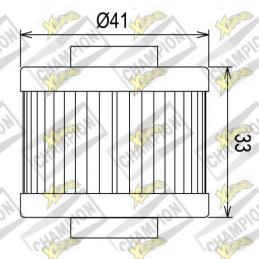 Oil filter COF085 Leonardo125