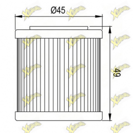 COF082 oil filter
