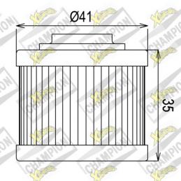 Filtro olio COF086 Scarabeo125