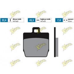Polini for race brake pads...