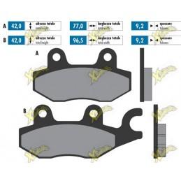 Kymco sintered brake pads