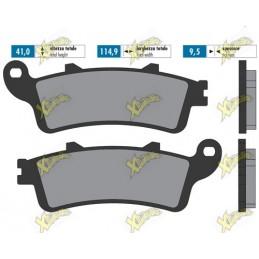 Sintered brake pads for...