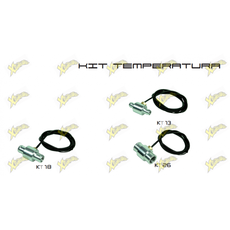 Temperature sensor Kit and aluminum adapter GPT