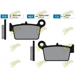 Brake pads Beta Rr Enduro,...