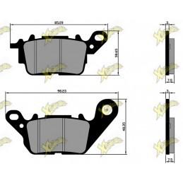 Brake pads Yamaha N Max