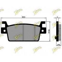 Brake pads Kymco AK 550 E4...