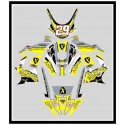 X-graphics adhesive for Dm  / X-grafica adesiva per Dm