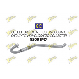 Approved catalytic collector Aprilia RX Sx Arrow 52001PZ
