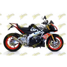 Arrow GP2 titanium exhaust for Aprilia Tuono V4 1100 factory 2015-16 71528GP