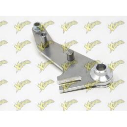 Kit supporto pinza freno meccanico posteriore CNC alluminio Dm