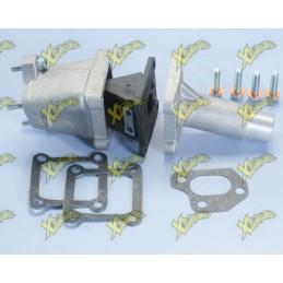 Single-reed intake manifold diameter 19 mm Shbc for Ape 50