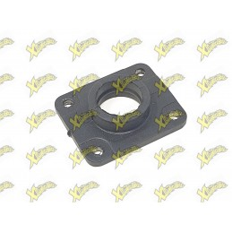 Minibike intake manifold rubber steel right