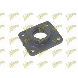 Minibike intake manifold rubber steel right