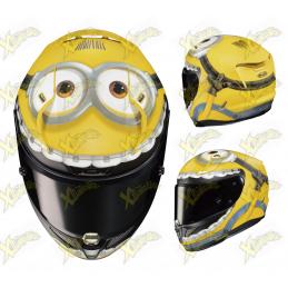 Hjc rpha 11 minions helmet