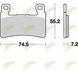 Braking 827CM55 sintered pads