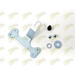 Polini silencer support bracket and tail