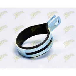 Chromed iron clamp for...