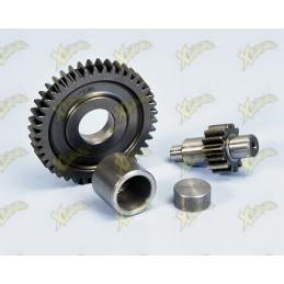 Extended ratio gear for Pgo 50 cc