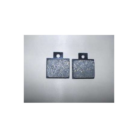 COPPIA PASTIGLIE FRENO PER PINZA STANDARD - PAIR OF BRAKE PADS FOR STANDARD CLAMP