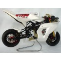 KIT CARENATURA SR R FACTORY COMPLETA CON PARADISCO GREZZA - FAIRING KIT SR R FACTORY COMPLETE WITH RAW DISCGUARD