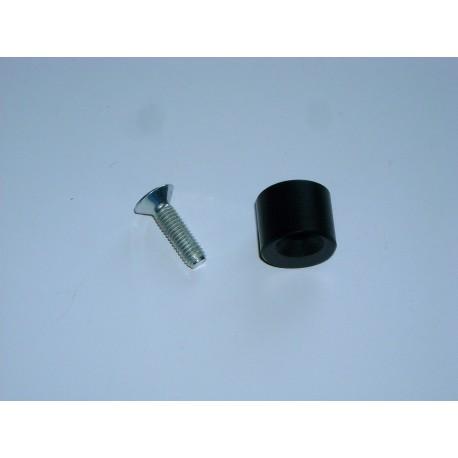 Distanziale + vite lato frizione - Spacer + screw on the clutch side
