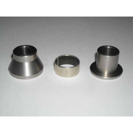 Kit distanziali inox supporto pinza idraulica posteriore / stainless steel standoffs kit for hydraulic caliper rear support