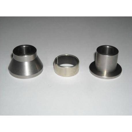 Kit distanziali inox supporto pinza idraulica posteriore / stainless steel standoffs kit for hydraulic caliper rear support