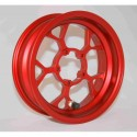 CERCHIO RACING CON VALVOLA GRC BIKE RACING L.58 (COLORE ROSSO) - RIMS RACING WITH VALVE GRC BIKE RACING L.58 (RED)