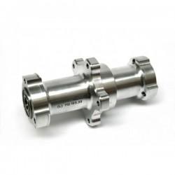MOZZO GRC POSTERIORE COMPLETO L.114+VITI  - COMPLETE REAR HUB GRC (long) L.114 + VINE (for hydraulic brakes)