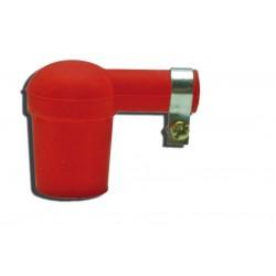cappuccio candela silicone rosso - spark plug red silicone