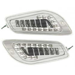 coppia frecce anteriori Vespa LX 50 125 LED - pair of front arrows Vespa LX 50 125 LED