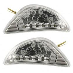 coppia frecce posteriori Vespa LX con led - couple Vespa LX rear indicators with led