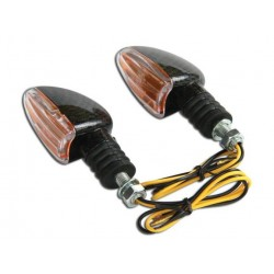 Coppia frecce omologate ARROW CARBON - A pair of indicators approved ARROW CARBON