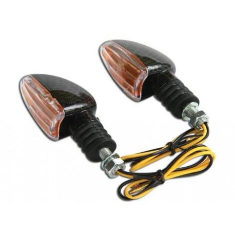 Coppia frecce omologate ARROW CARBON - A pair of indicators approved ARROW CARBON