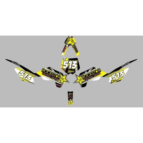 Grafica adesiva ROCKSTAR per minicross LEM bigbore 10-10