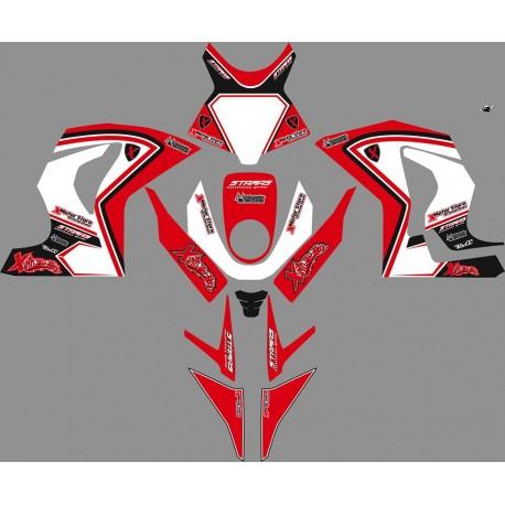Grafica adesiva STAMAS R red