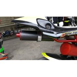 Silenziatore minimoto X-SIL Carbonio Racing  ( universale )