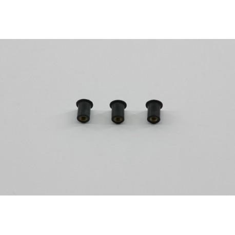 Kit inserti antivibranti per parafango post.3 pz./Kit anti-vibration inserts for the rear fender 3 pcs.