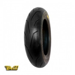 "100/90R12 extra soft semi-slick ""Blackfire"""