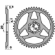 Corona minimoto universale Ergal Nero