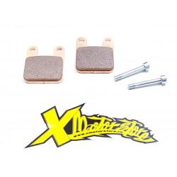 COPPIA PASTIGLIE FRENO RACING (pinza meccanica e idraulica radiale PLK GRC)