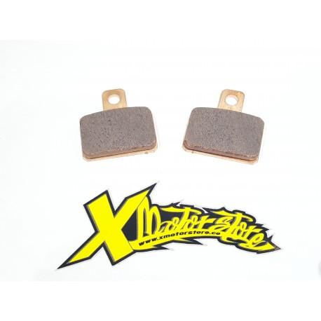 coppia pastiglie sinterizzate freno idraulico AJP - couple sintered pads hydraulic brake AJP
