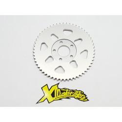 Corona DN ergal 5 fori annodizzata / Ergal sprocket DM 5 holes ox. natural