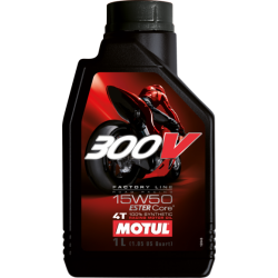 300V FACTORY LINE ROAD RACING 15W50 MOTUL