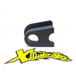 Pattino guidacatena x forcellone acciaio da completare con art. 049