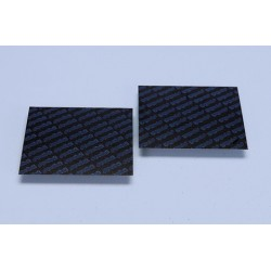 CARBON FIBER SHEET SET MM.110X100 THICKNESS 0.30mm