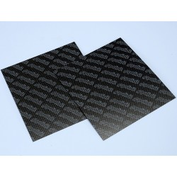 CARBON FIBER SHEET SET MM.110X100 0.33 THICKNESS