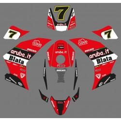 Graphics Blata Last Chaz Davies Ducati replica