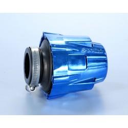 AIR BOX CHROME BLUE STRAIGHT POLINI