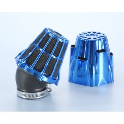 AIR BOX BLUE CHROMED INCLIN 30 ' POLINI